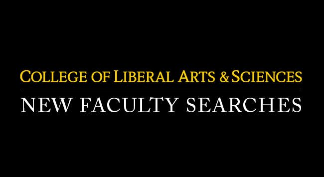 New Faculty Searches
